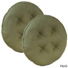 100 The Gripper Twill 2 Pc Rocking Chair Pad Set Shop Barstool Cushion Batali Of Free Shipping