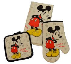 Mickey Mouse Bathroom Set Amazon by Amazon Com Disney 3 Piece Kitchen Set Mickey Mouse Letters Home