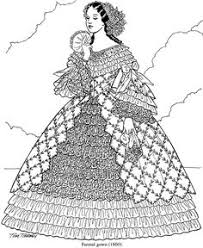 Victorian Fashions Coloring Book By Tom Tierney Cute PagesAdult