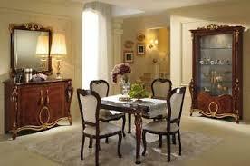esstisch 6 stühle esszimmer tisch jugendstil luxus möbel