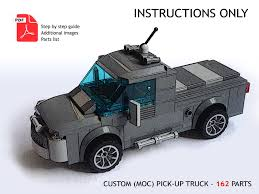 LEGO CUSTOM MOC Truck - Pick-Up - PDF Instructions ONLY - $5.50 ... Lego Creator Cool Convertible 4993 Ebay Lego City Racers Ferrari Truck Set 8654 Itructions Book Manual Oss Cafe Corner Box And Stickers Moc Man Tgs Custom Model Team Pdf Delivery 3221 1 X Brick For Technic Offroad 4 Sheepos Garage Astra 8x8 Mini Trial Now With Itructions Mobile Police Unit 7288 Fire Car 30221 6693 Refuse Collection Parts Inventory