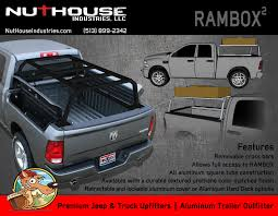 Nutzo - RAMBOX Series Expedition Truck Bed Rack - Nuthouse Industries