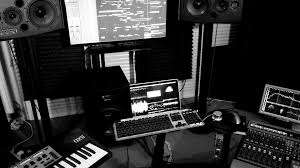 Free Hd Music Studio Black White Wallpapers Download
