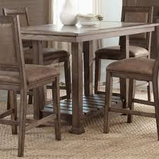 Quartz Top Dining Table Positive Counter Height Room