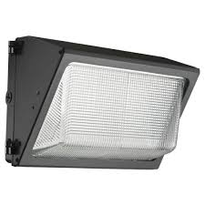 lithonia lighting bronze outdoor integrated led 5000k wall pack