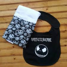 nightmare before christmas apron lilac from alittlegeeky on etsy