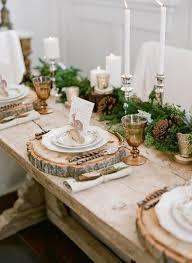 deco noel de table table de noël 22 idées de décoration de table de noël
