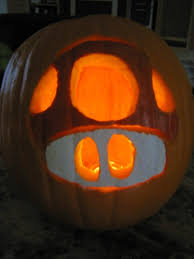 Mario Pumpkin Carving Templates by Mario Mushroom Pumpkin By Bassownage88 On Deviantart Gorgeous