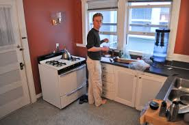 Login In The Apartment Kitchen