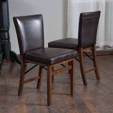 Shop Lane Bonded Leather Folding Dining Chair (Set Of 2) By ...