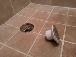 how to repair tiled shower drain leak kitchen bath remodeling