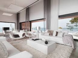 White Sectional Living Room Ideas by Comfortable Luxury Fur Rug For Modern Living Room Decorating Ideas