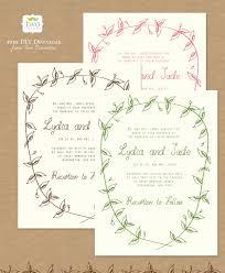 Free Wedding Invitation Templates Uk