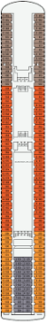 Norwegian Star Deck Plan 9 by Pacific Dawn Deck 9 Deck Plan Tour