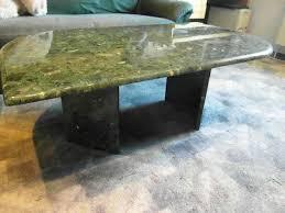 massiver verdemarmor marmor couchtisch 3teil grün schwarz
