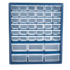 Akro Mils 26 Drawer Storage Cabinet by Stalwart Deluxe 42 Drawer Compartment Storage Box Walmart Com