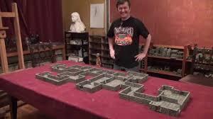 3d Dungeon Tiles Dwarven Forge by Dwarven Forge Kickstarter Awesome Video Ends April 30th 2013