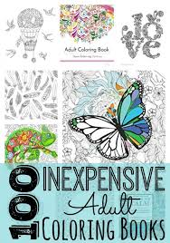 100 Inexpensive Adult Coloring Books