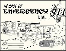 Emergency Coloring Pages 3 Free Room Top 20 Printable Music