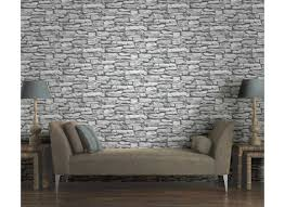 marokkanische wand naturschiefer stein tapete arthouse grau