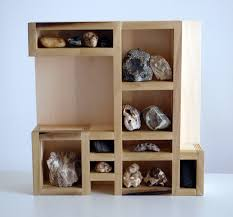 Collect Is A Display Designed Specifically For Rock Collection The Variety In Spaces Offers Opportunity To Create Dynamic Organization Of Rocks