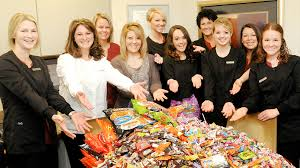 Operation Gratitude Halloween Candy by Candy Buy Back Dr Denise Anatalis Cambridge Oh