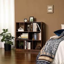 vasagle bücherregal standregal aus holz mit offenen fächern vitrine für wohnzimmer schlafzimmer kinderzimmer und büro 97 5 x 30 x 100 cm l x b x