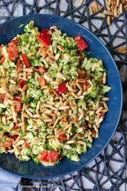 brokkoli rohkost salat experimente aus meiner küche