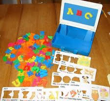 Fisher Price Magnetic Letters