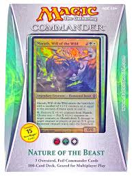 Magic The Gathering Edh Deck Box by Magic The Gathering Commander Deck 2013 Nature Of The Beast