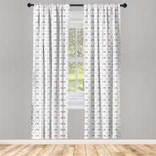 gardine fensterbehandlungen 2 panel set für wohnzimmer schlafzimmer dekor abakuhaus motorrad mofa roller kaufen otto