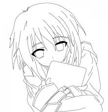 Anime Girl Neko Coloring Pages Printable Luxury Slavicfo R8u Of