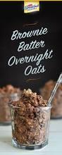Pumpkin Pie Overnight Oats Rabbit Food by Brownie Batter Overnight Oats Is An Easy Breakfast Idea That You