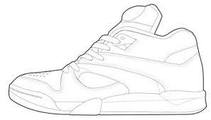 Unusual Design Ideas Sneaker Coloring Book The Presurfer Colouring