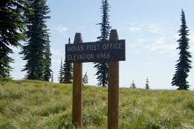 Indian Post fice on the Lolo Trail Picture of Lewis and Clark