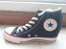 100 Star Lux Converse Chuck Taylor All Star Lux Wedge Mid