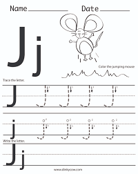 Free Printable Letter J Worksheets Devasap Best Of Coloring Pages For Preschool