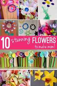10 Fun Flower Crafts for Mother s Day