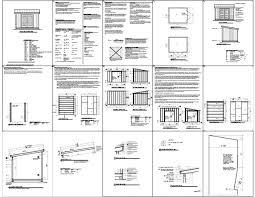 lean shed plans free pdf sheds pinterest storage