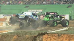 Grave Digger And Hooked CRASH During Qualifying - Monster Jam In ... Bigfoot Vs Usa1 The Birth Of Monster Truck Madness History Hot Wheels Crashin Big Rig Blue Flatbed Shop Rzr Crash Compilation Busted Knuckle Films Starting Line Allmonstercom Where Monsters Are What Matters Rock Shares A Photo His Peoplecom Truck Pulls Off First Ever Successful Frontflip Trick Extreme Overkill Trucks Wiki Fandom Powered By Wikia This Is Awesome Watch This Dude Nail The Firstever Monster Crazy About Race Cars Gas Videos Monkey Garage Haaksbergen Accident Multiple Angles Rides On
