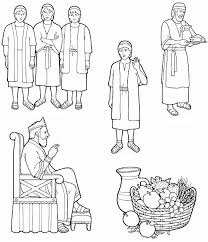 Depiction Of King Nebuchadnezzar Colouring Page Coloring