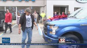 100 95 Ford Truck Local Veteran Wins During Veterans Day BBQ Cookout At