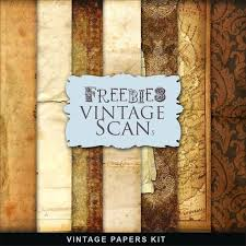 Printable Vintage Paper Designs Far Hill Freebies Kit Free Scrapbook
