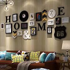 de leqi fotowand fotowand fotorahmen wand wohnzimmer