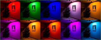 lighting led flood light bulbs reviews fl rgb120 10w shown in