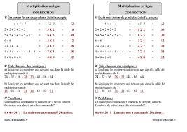 table de multiplication ce1 en ligne 28 images calcul de