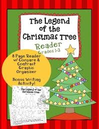 Christmas Book The Legend Of Tree Reproducible