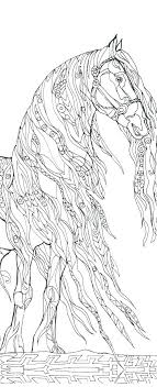 Printable Horse Coloring Pages Free For Adults