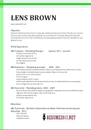 Job Resume Format It Examples Simple Download Samples Intended