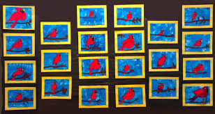 Winter Cardinal Art And A Science Unit